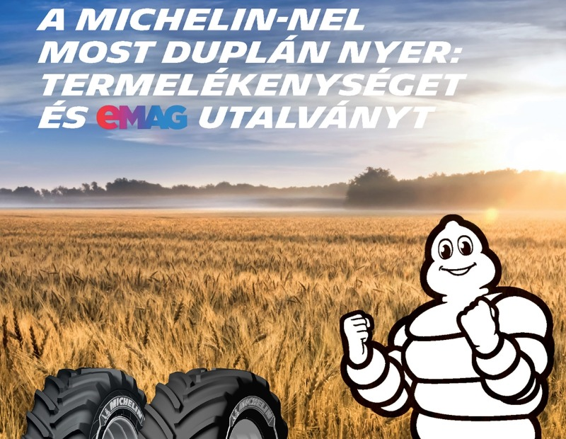 A Michelin-nel most duplán nyer…
